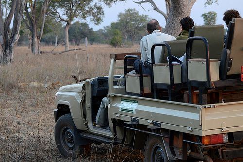 African Safari Jeep