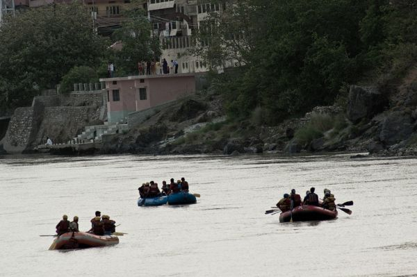 Rafting in the Ganga, Rishikesh