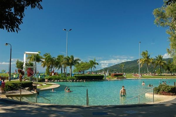 Airlie Beach Lagoon. Photo by Niki Gango.