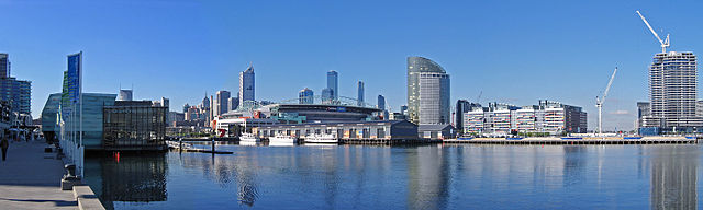 Melbourne Docklands Panorama