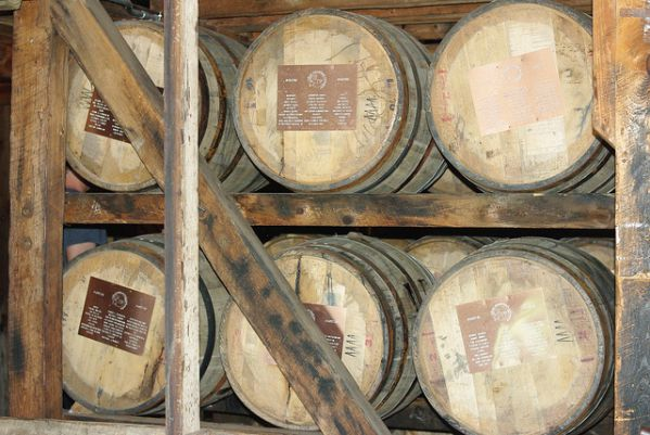 Bourbon Whiskey Barrels