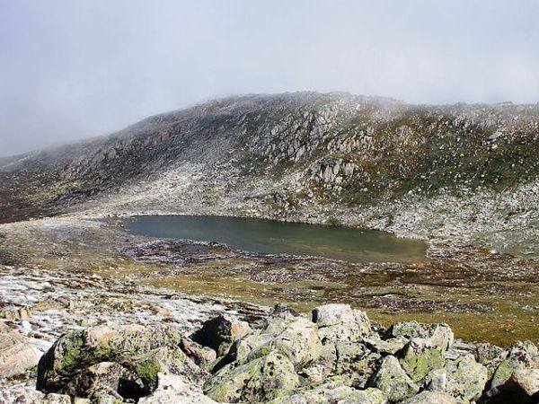 Lake Cootapatamba on Mount Kosciuszko, Australia