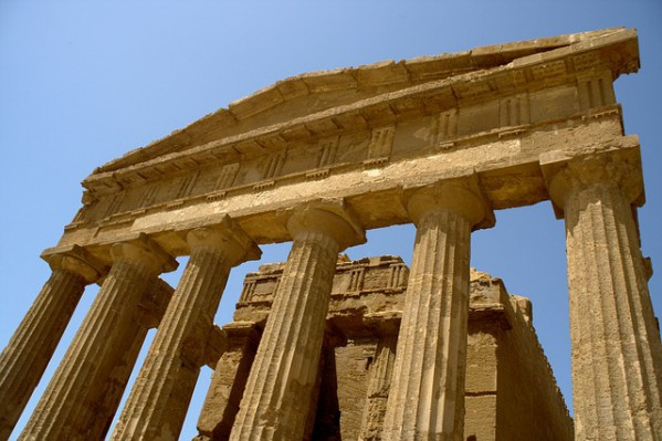Valley Of The Temples, Agrigento, Sicily, Italy