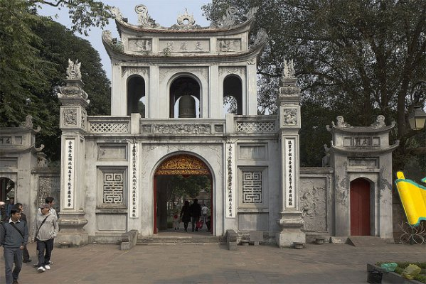 Hanoi, Temple of Literature. Photo by Stefan Fussan. License: CC BY-SA 2.0.