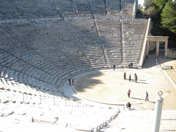 Epidaurus Amphitheater Greece