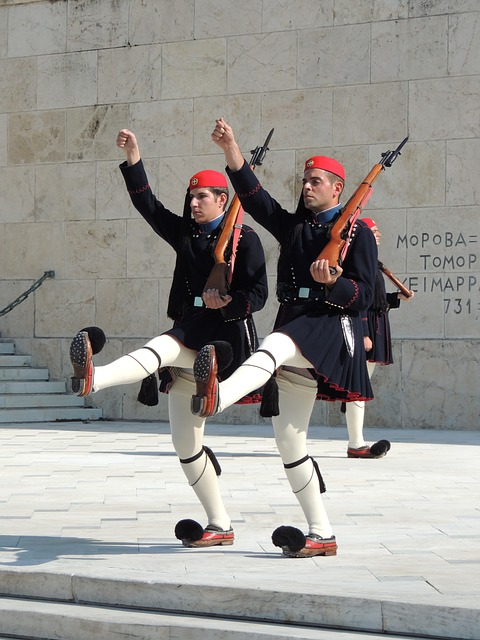 Goose Step Residential Guard of Athens