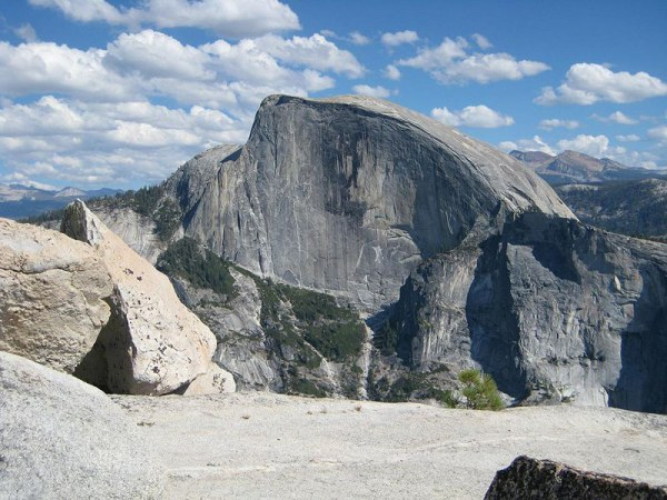 Half Dome, Yosemite National Park. Photo by Steve Ryan. License: CC BY-SA 2.0.