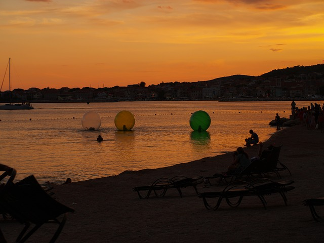 Croatia Vodice Sunset