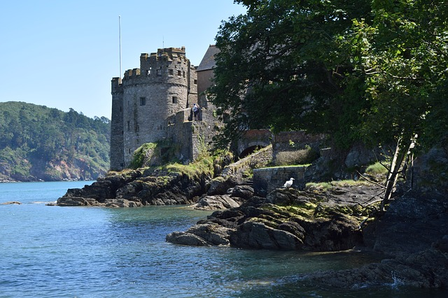 Dartmouth Castle, Devon, UK