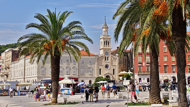 Split, Croatia Old Town