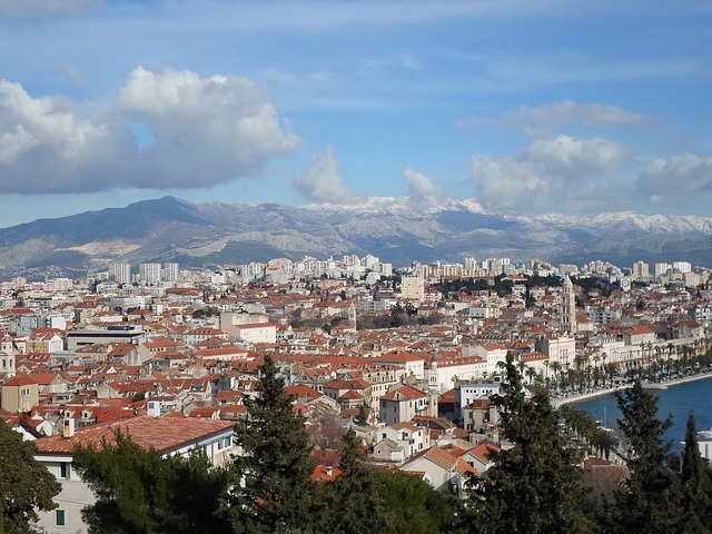 Split, Croatia Panorama