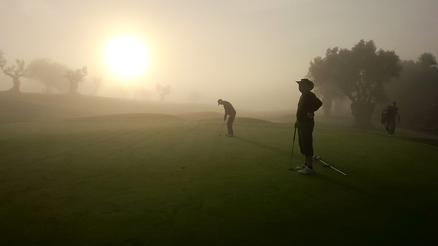 Golf Morning Haze Portugal Algarve