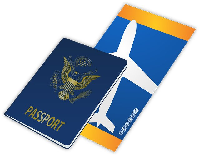 Passport Travel Plane Tickets