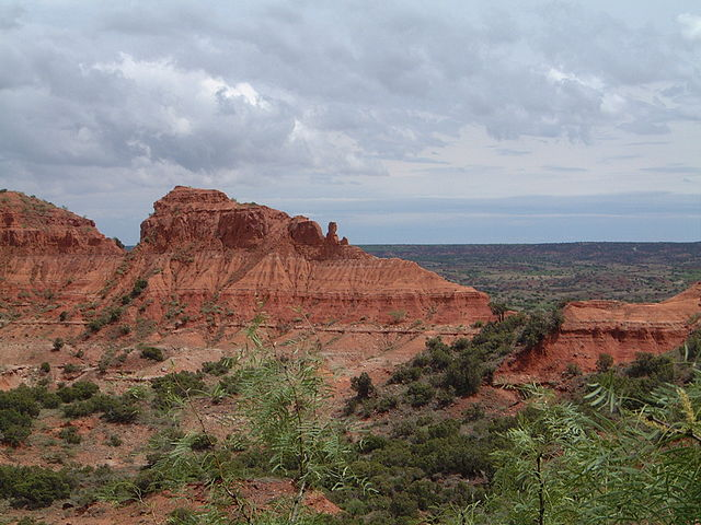 Caprock Canyons Haynes Ridge, Texas. Photo by Leaflet. License: CC BY-SA 3.0.