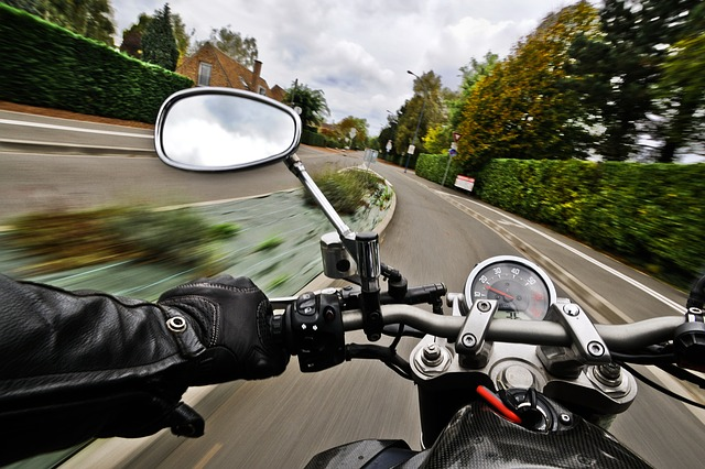 Motorcycle Driving