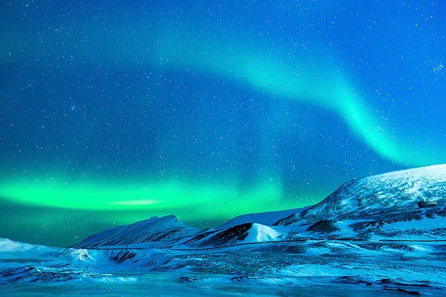 Aurora Polar Lights Sky Winter Travel